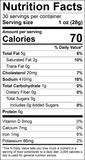 Original Beef Snack Stick Nutrition Facts