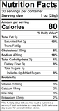 Ranch Snack Stick Nutrition Facts