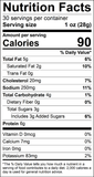Sweet Teriyaki Snack Stick Nutrition Facts