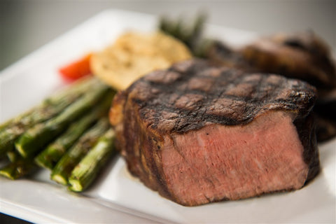 Grilled tenderloin fillet steak