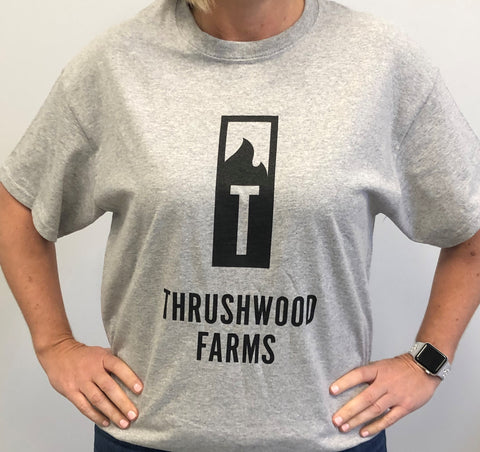 Thrushwood Farms Shirt Gray Front