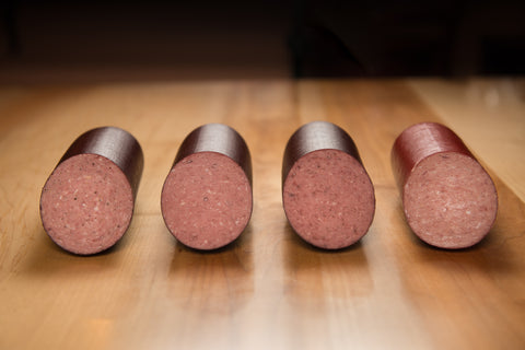 Thuringer, Spicy Summer Sausage, Garlic Summer Sausage, Smoked Beef Summer Sausage, Hickory Smoked Summer Sausage, Salami