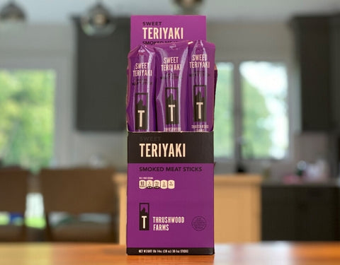 Sweet Teriyaki Snack Sticks