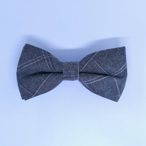 Striped Woven Bow Tie