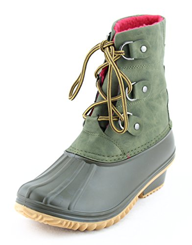 JustOneStyle New Fashionable Snow Warm Boots Shearling Womens Basic Winter Shoes Beige