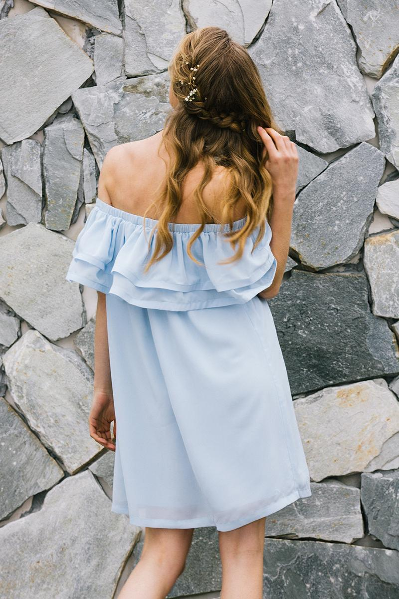 Summer Breeze Ruffle Dress