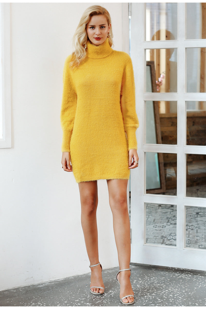 Sun Kissed Sweater Dress