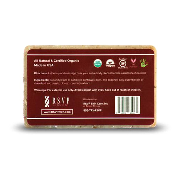 Oatmeal Spice Organic Soap Bar