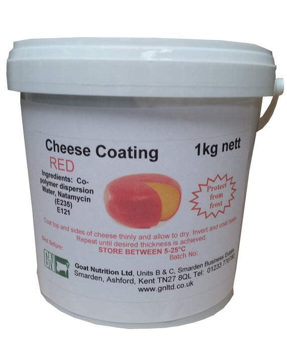 Cheese Coating 1kg Various Colours