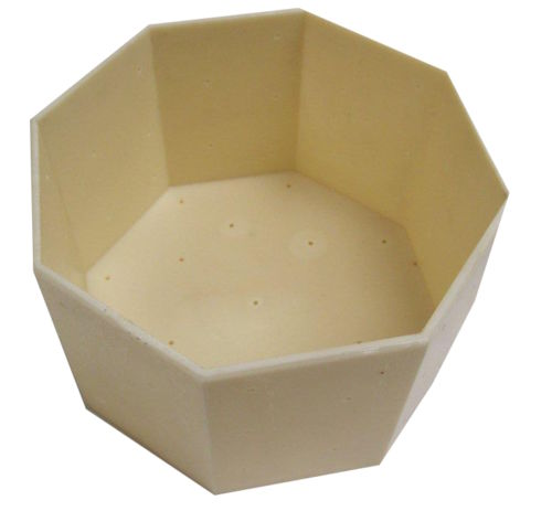Cheese making Mould 34 - Large Octagonal Mould
