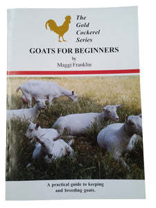 Book, Goats for beginners - Maggi Franklin