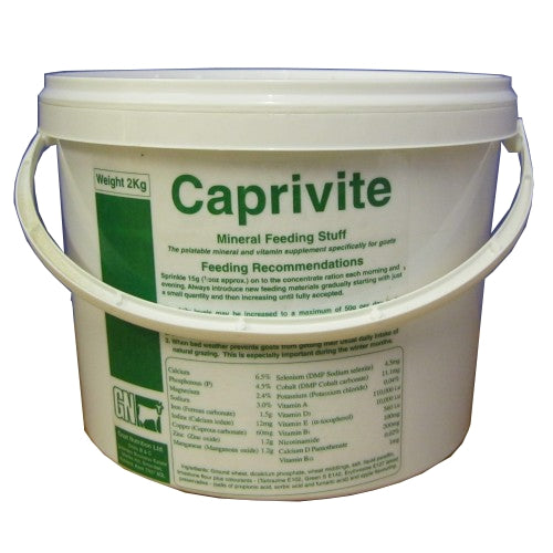 Caprivite - Vitamin Mineral Feed Supplement for Goats