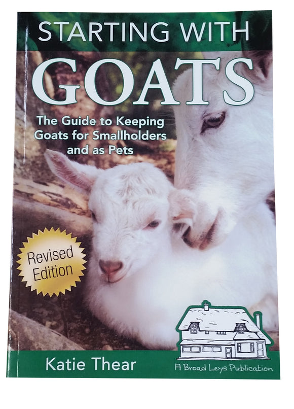 Book, Starting with Goats - Katie Thear