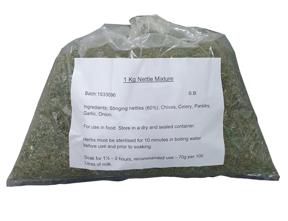 Nettle Mix for cheese making