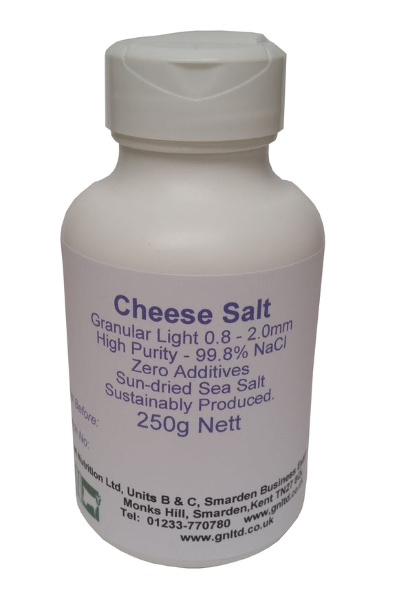 Granular Cheese Salt - Additive free