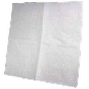 Cheese Cloth - 60 cm (24 in) square with fully oversewn edges