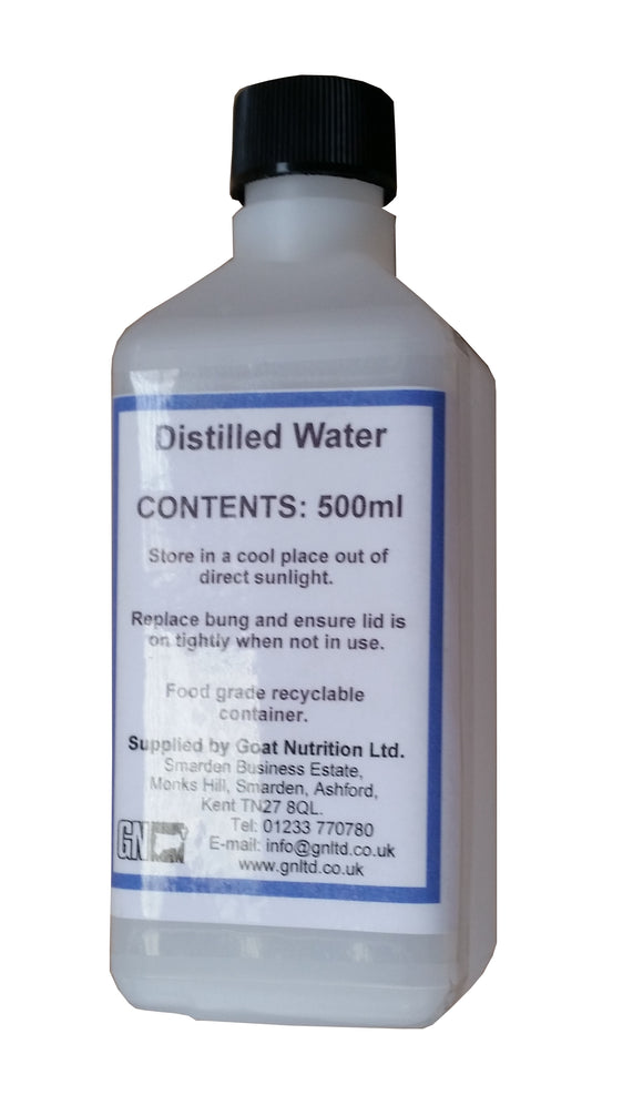 Distilled Water - 500ml