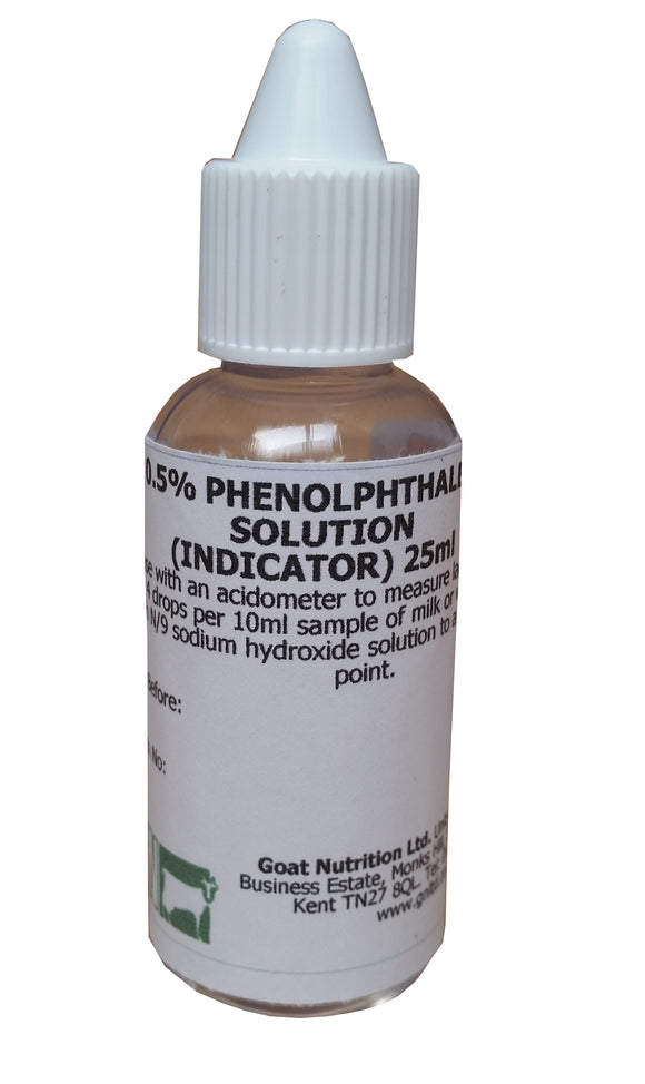 Phenolphthalein Indicator Solution