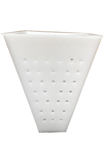 Cheese making Mould 26 - Tall Pyramid (Faisselle) 87mm square x 120mm tall