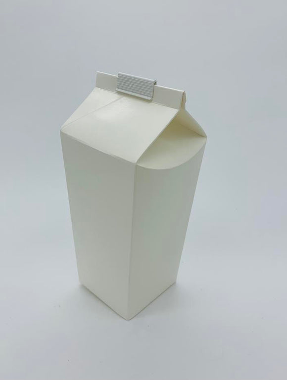 Hoppers - 2 Pint White Disposable Cartons