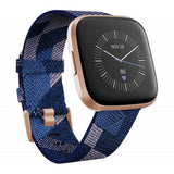 Versa 2 SPECIAL EDITION Navy Pink Woven & Copper Rose