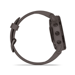 fēnix 6S Pro Solar Amethyst Steel with Shale Gray Band