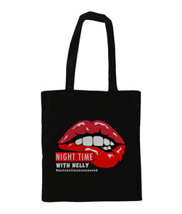 Nighttime With Nelly Shoulder Tote Bag