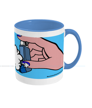 Sucking On Mi Blue Mug