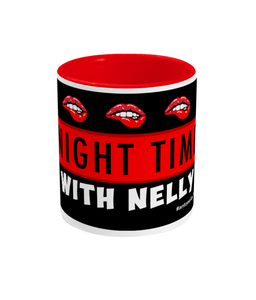 Nighttime With Nelly Mug