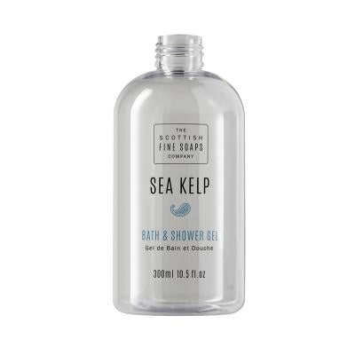 Sea Kelp Bath & Shower Gel 300ml Empty Printed Bottle