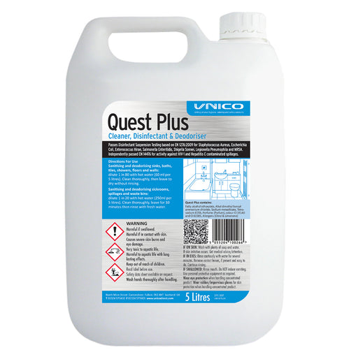 Quest Plus 5 Litre Concentrate
