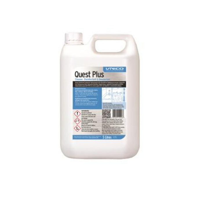 Unico Quest Plus Sanitiser - 5 Litre