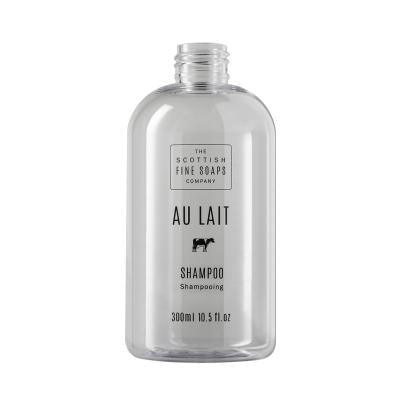 Au Lait Shampoo 300ml Empty Printed Bottle