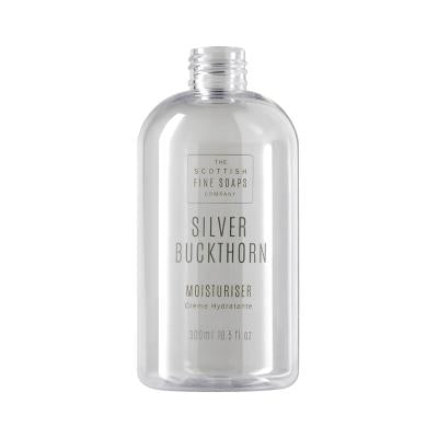 Silver Buckthorn Moisturiser 300ml Empty Printed Bottle