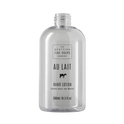Au Lait Hand Lotion 300ml Empty Printed Bottle
