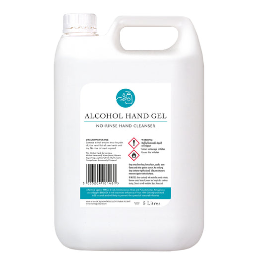Alcohol Hand Gel 5 Litres