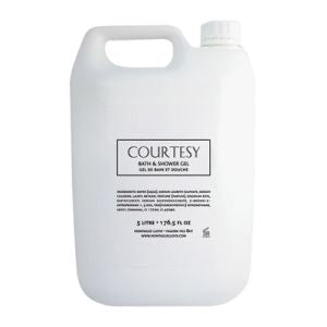 Courtesy Bath & Shower Gel 5L