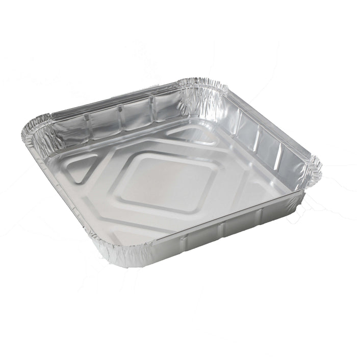 "9"" x 9"" Shallow Foil Food Container"