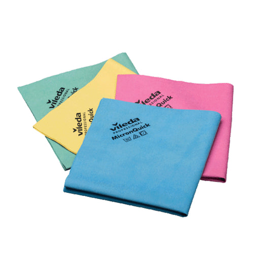 MicronQuick Machine Washable Microfibre Cloth - Various Colours
