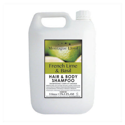 French Lime & Basil Hair & Body Shampoo 5L