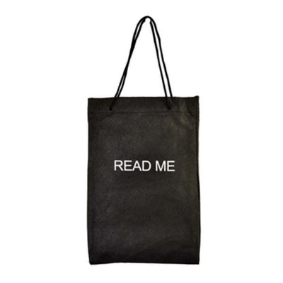 """Read Me"" Drawstring Bag"