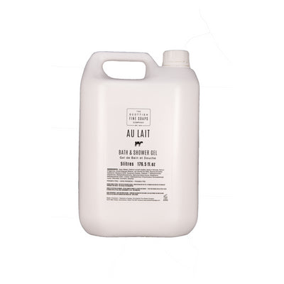 Au Lait Bath & Shower Gel 5L