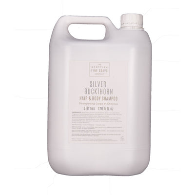 Silver Buckthorn Hair and Body Shampoo 5L