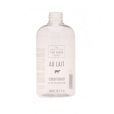 Au Lait Conditioner 300ml Empty Printed Bottle