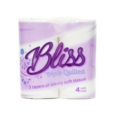 Bliss Triple Quilted Toilet Roll
