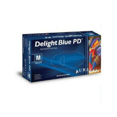 Delight PD Vinyl Gloves - Various Sizes