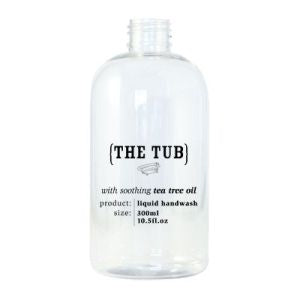 The Tub Hand Wash 300ml Empty Printed Bottle
