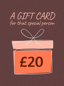 £20 Gift Card (+10% extra value)