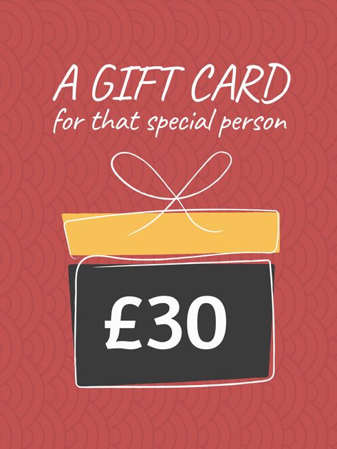 £30 Gift Card (+10% extra value)