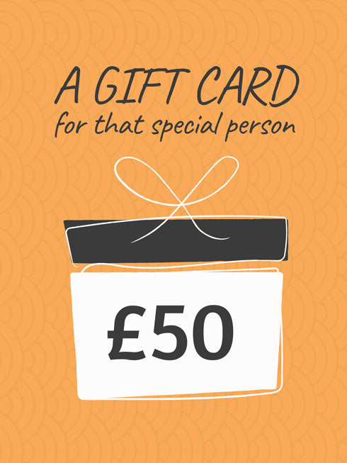 £50 Gift Card (+10% extra value)